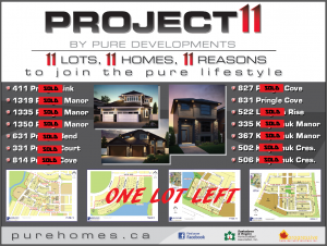 Project 11- SOLD-1 LEFT